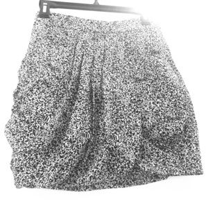 Club Monaco 100% Silk Mini Skirt